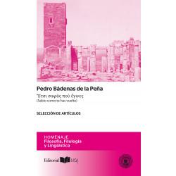 Pedro Bádenas de la Peña...