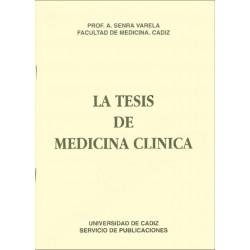 La tesis de medicina clínica