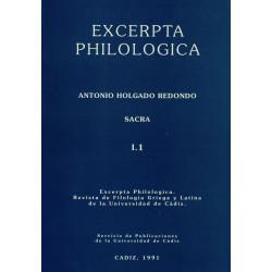 EXCERPTA PHILOLOGICA...